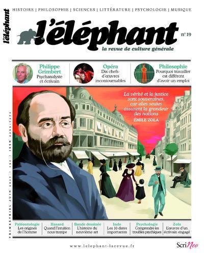 L'ELEPHANT - LA REVUE DE CULTURE GENERALE - NUMERO 19