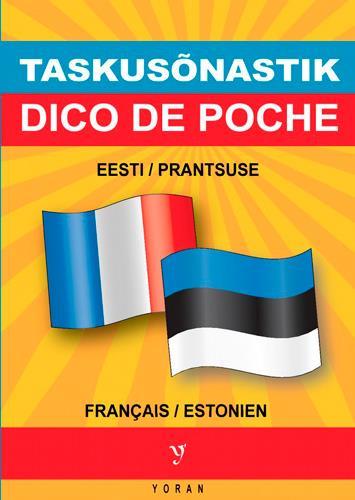 DICO DE POCHE BILINGUE ESTONIEN/FRANCAIS - FRANCAIS/ESTONIEN