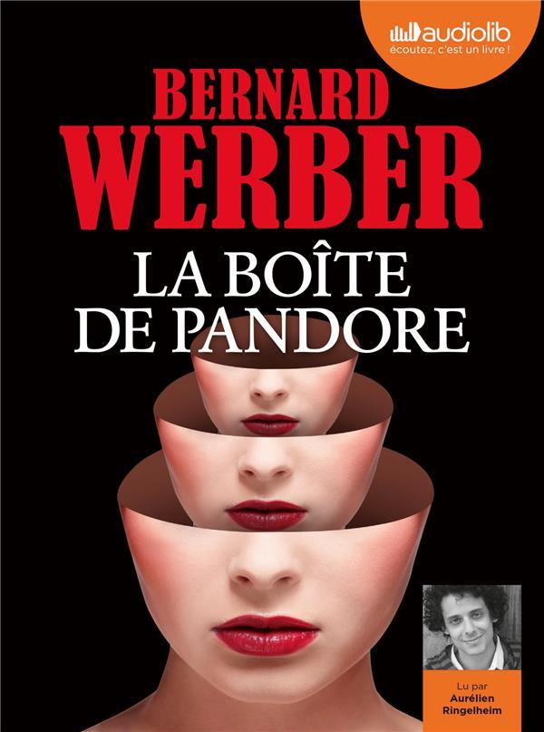 LA BOITE DE PANDORE - LIVRE AUDIO 2 CD MP3
