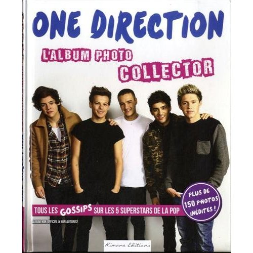 ONE DIRECTION L ALBUM PHOTO COLLECTOR