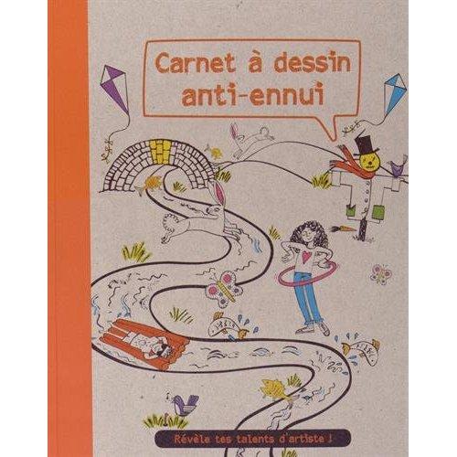 CARNET A DESSIN ANTI-ENNUI