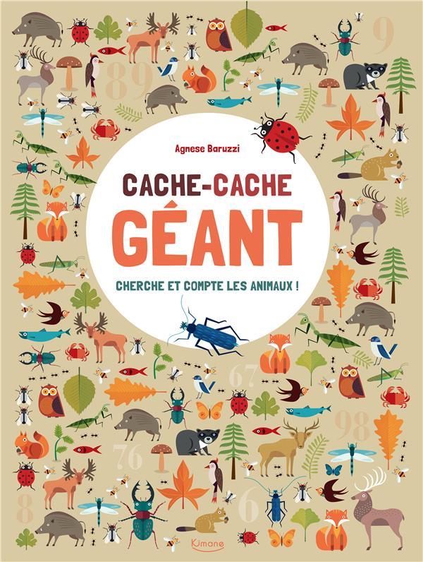 CACHE-CACHE GEANT CHERCHE ET COMPTE LES ANIMAUX !