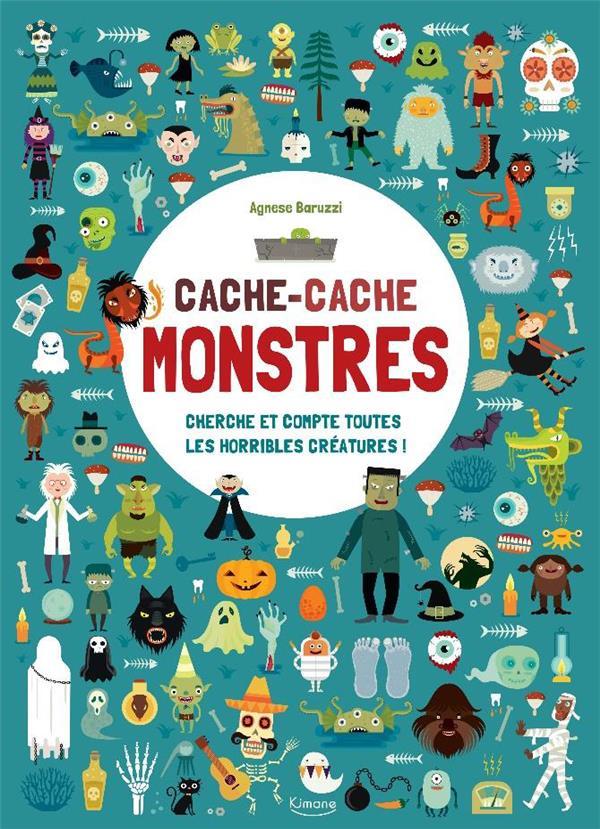CACHE-CACHE MONSTRES - CHERCHE ET COMPTE TOUTES LES HORRIBLES CREATURES !