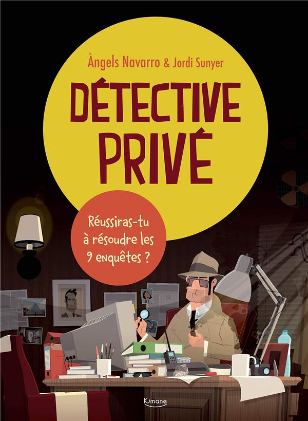 DETECTIVE PRIVE - 9 ENQUETES A RESOUDRE