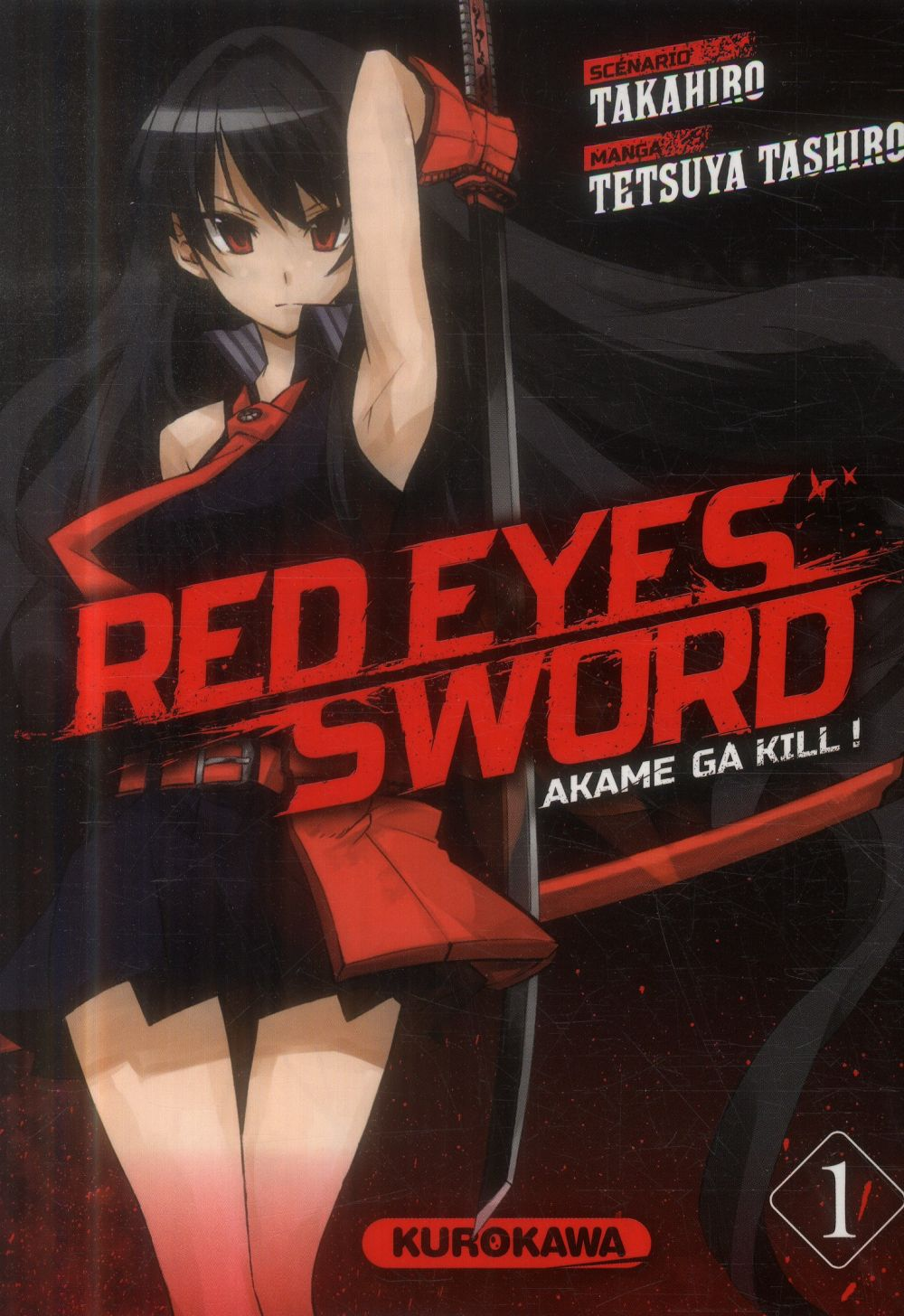 RED EYES SWORD - AKAME GA KILL ! - TOME 1 - VOL1