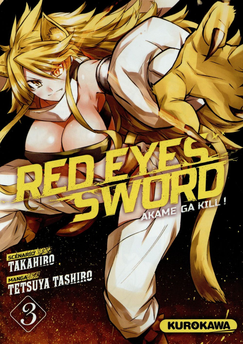 RED EYES SWORD - AKAME GA KILL ! - TOME 3 - VOL3