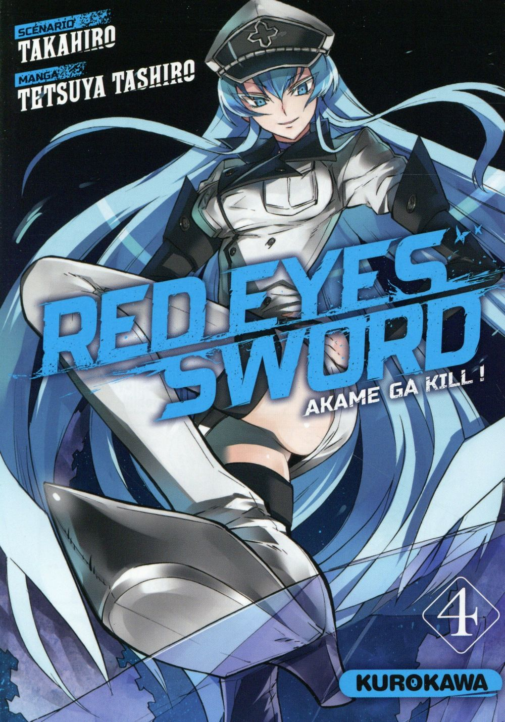 RED EYES SWORD - AKAME GA KILL ! - TOME 4 - VOL4