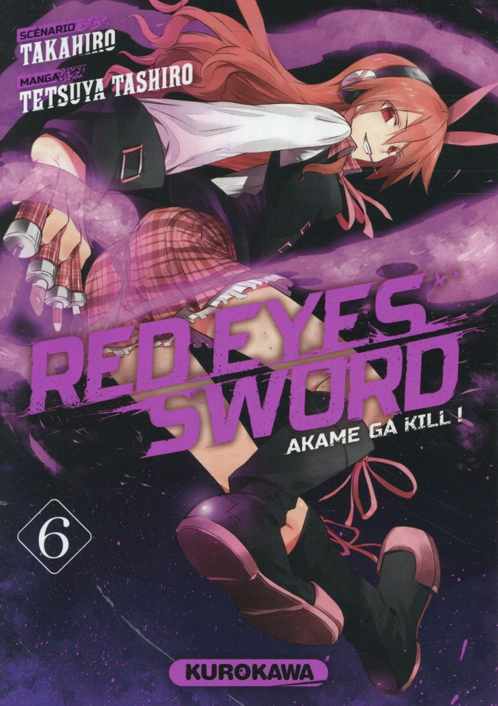 RED EYES SWORD - AKAME GA KILL ! - TOME 6