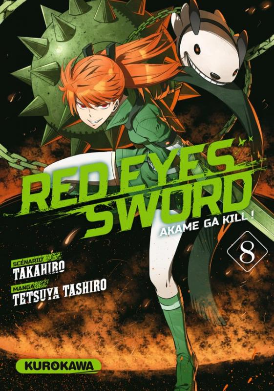 RED EYES SWORD - AKAME GA KILL ! - TOME 8