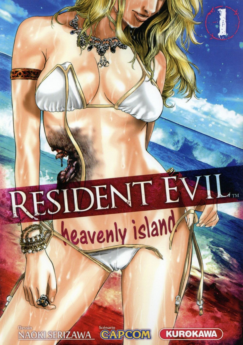 RESIDENT EVIL - HEAVENLY ISLAND - TOME 1 - VOL1