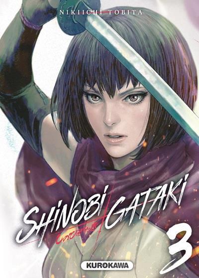 SHINOBI GATAKI - TOME 3 - VOL03