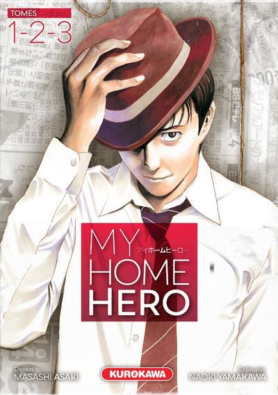 COFFRET MY HOME HERO - TOMES 1-2-3