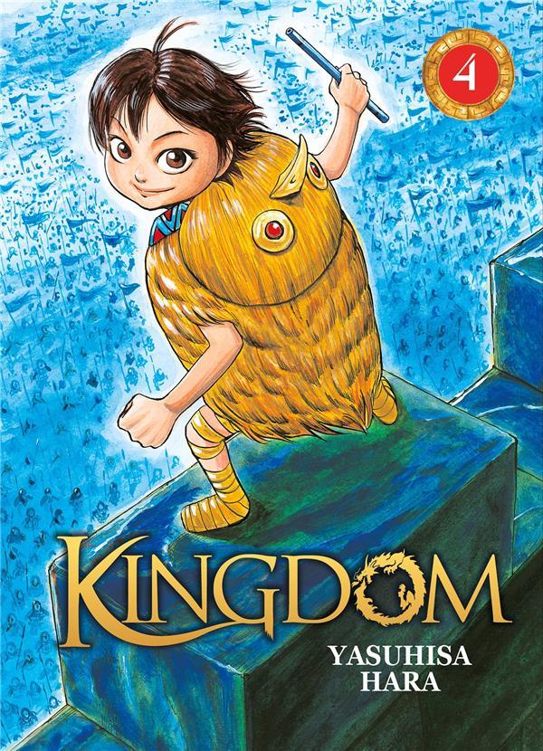 KINGDOM - TOME 04 - MANGA (LIVRES)