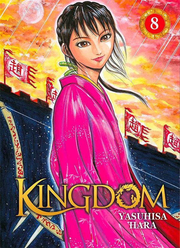 KINGDOM - TOME 08 - MANGA (LIVRE)