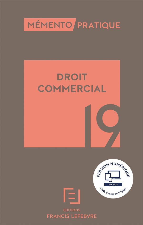 MEMENTO DROIT COMMERCIAL 2019