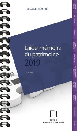 AIDE-MEMOIRE DU PATRIMOINE