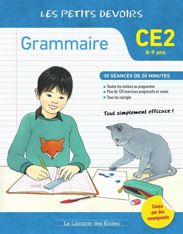 GRAMMAIRE CE2 LES PETIS DEVOIRS