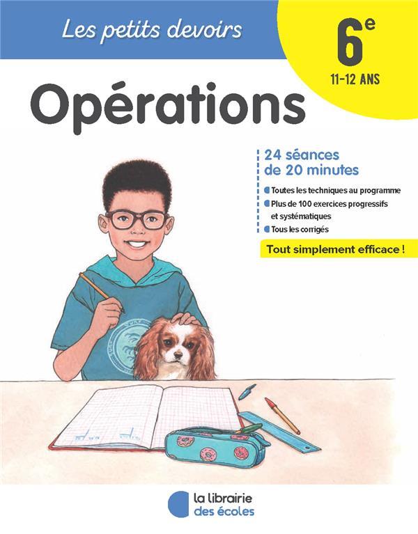 PETITS DEVOIRS OPERATIONS 6E 2018