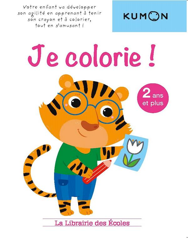 KUMON JE COLORIE !