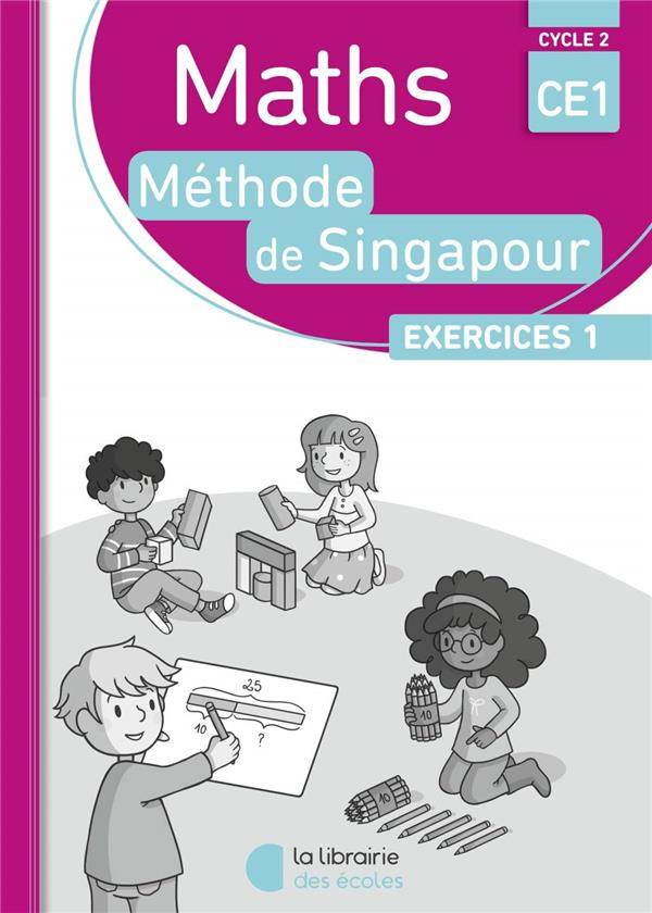 PACK SINGAPOUR 10 EX MATHS CE1 EXERCICES 1