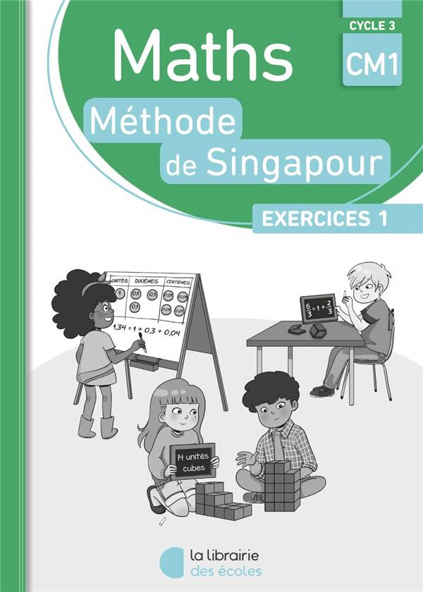 PACK SINGAPOUR 1O EX MATHS CM1 EXERCICES 1