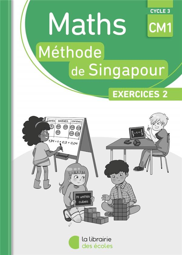 PACK SINGAPOUR 10 EX MATHS CM1 EXERCICES 2