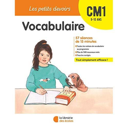 VOCABULAIRE CM1 9-10 ANS