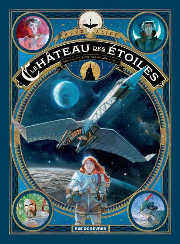 LE CHATEAU DES ETOILES T2 - 1869 LA CONQUETE DE L'ESPACE
