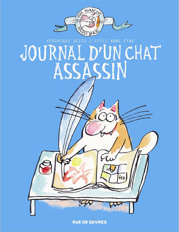 JOURNAL D UN CHAT ASSASSIN EN BD