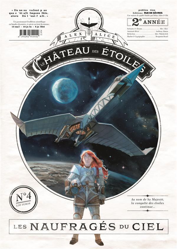 CHATEAU DES ETOILES GAZETTE N 4