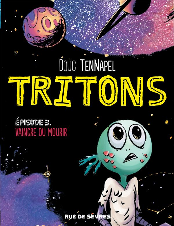 TRITONS TOME 3 VAINCRE OU MOURIR