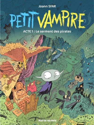 PETIT VAMPIRE T1-NOUVELLES AVENTURES LE SERMENT DES PIRATES