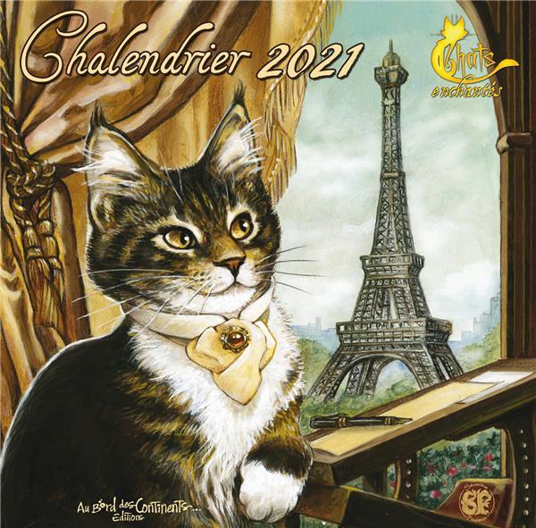 CALENDRIER 2021 LES CHATS ENCHANTES
