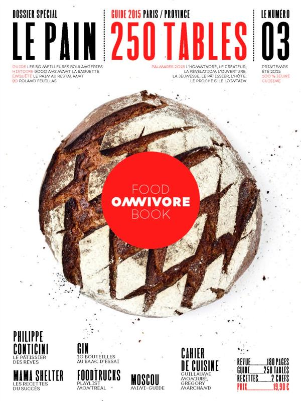 OMNIVORE FOOD BOOK - NUMERO 3 - LE PAIN - 03