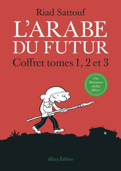 COFFRET L'ARABE DU FUTUR 3 TOMES - TOME 1, TOME 2, TOME 3