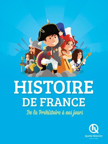 HISTOIRE DE FRANCE (LIVRE PREMIUM)