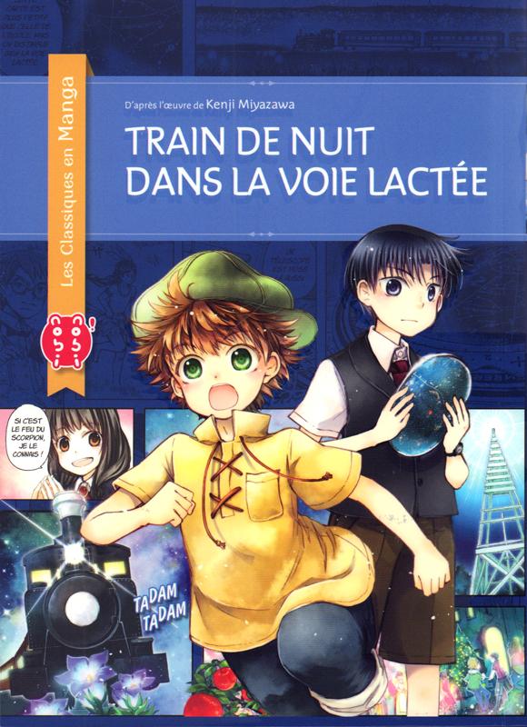 TRAIN DE NUIT DANS LA VOIE LACTEE