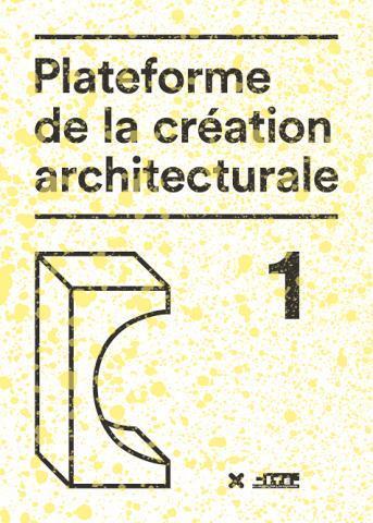 PLATEFORME DE LA CREATION ARCHITECTURALE 1