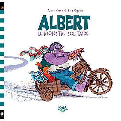 ALBERT LE MONSTRE SOLITAIRE - TOME  - ALBERT LE MONSTRE SOLITAIRE