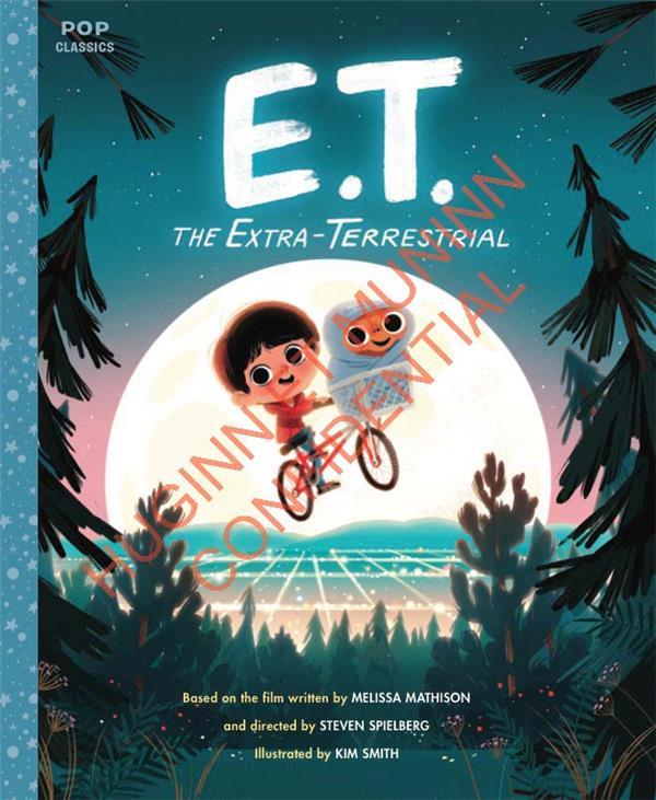 E.T. L'EXTRATERRESTRE, L'ALBUM ILLUSTRE