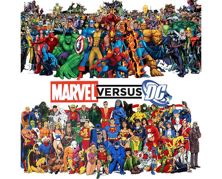 SUPER-WAR, MARVEL VERSUS DC COMICS