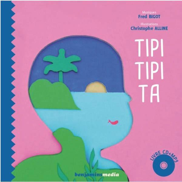 TIPI TIPI TA - LIVRE CD + BRAILLE ET GROS CARACTERES