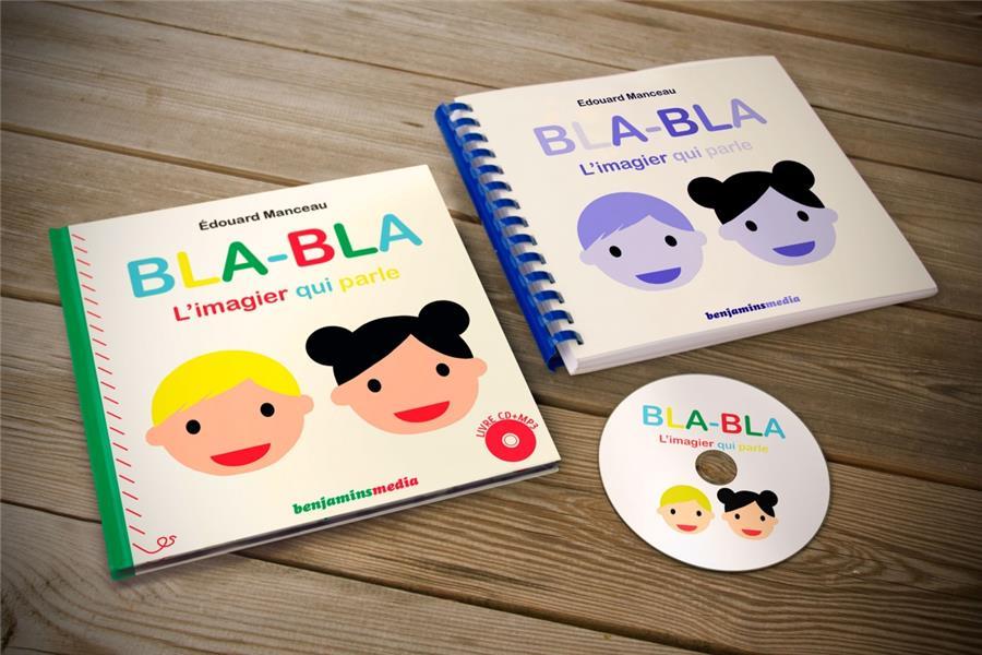 BLABLA, L'IMAGIER QUI PARLE - LIVRE CD MP3/BRAILLE/GROS CARA