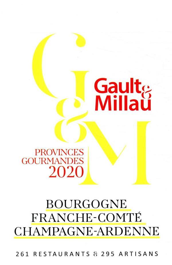 BOURGOGNE, FRANCHE-COMTE, CHAMPAGNE-ARDENNE - PROVINCES GOURMANDES 2020