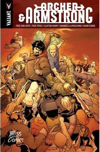 ARCHER & ARMSTRONG : L'INTEGRALE
