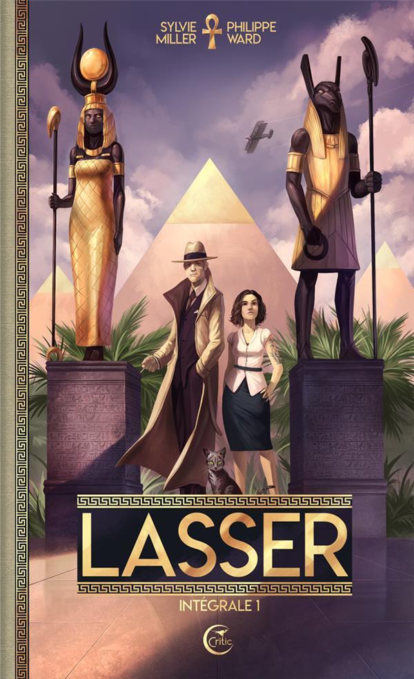 LASSER, LE DETECTIVE DES DIEUX - INTEGRALE 1