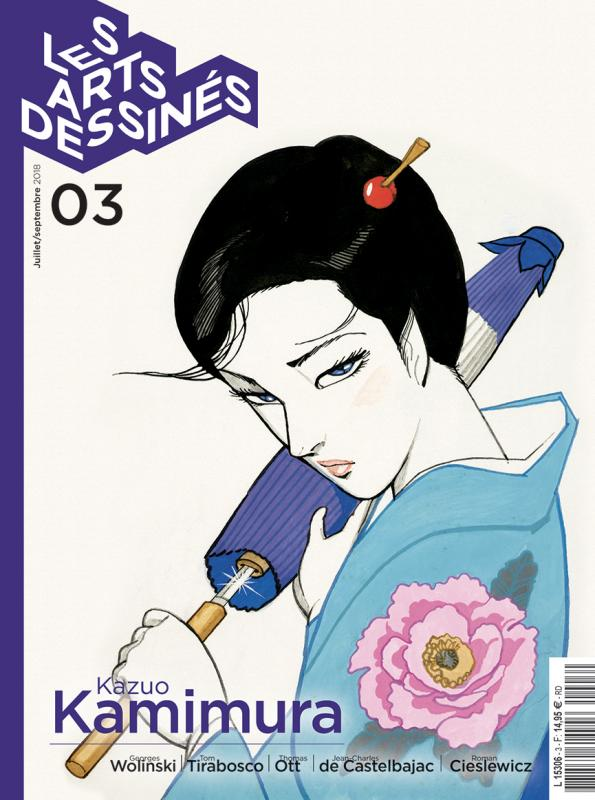 LES ARTS DESSINES N 3-JUIN 18
