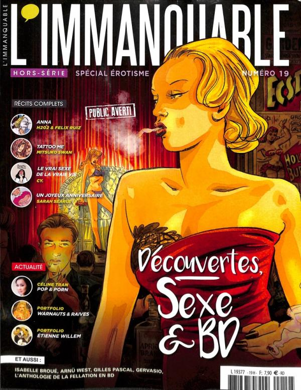 HS IMMANQUABLE EROTIQUE N 19