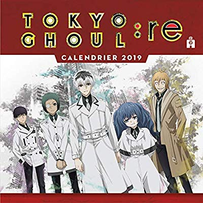 TOKYO GHOUL CALENDRIER 2019