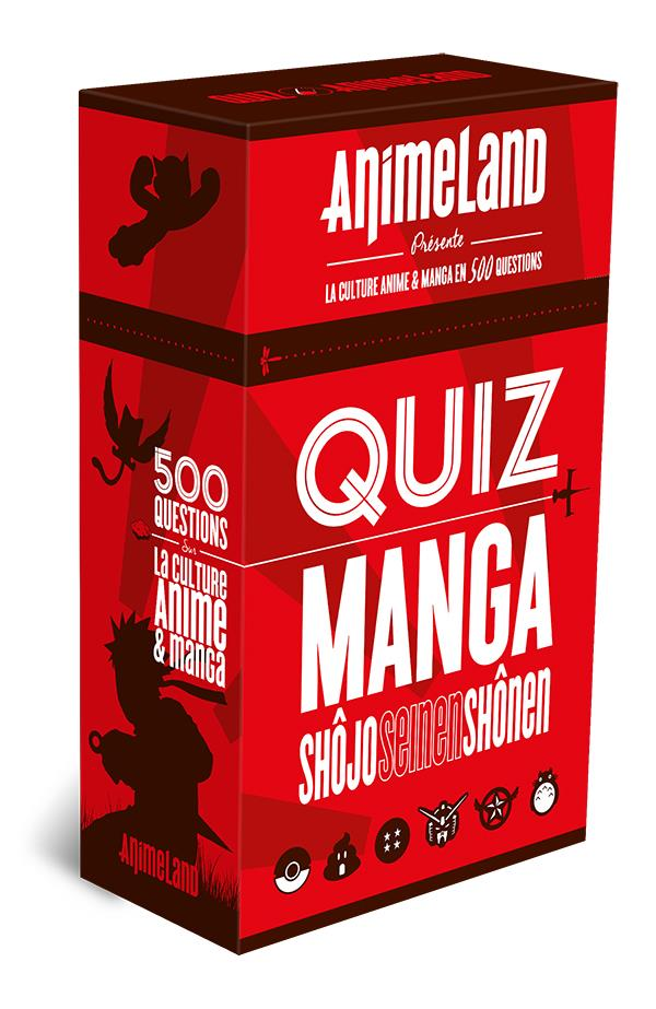 QUIZ ANIMELAND - LA CULTURE ANIME & MANGA EN 500 QUESTIONS